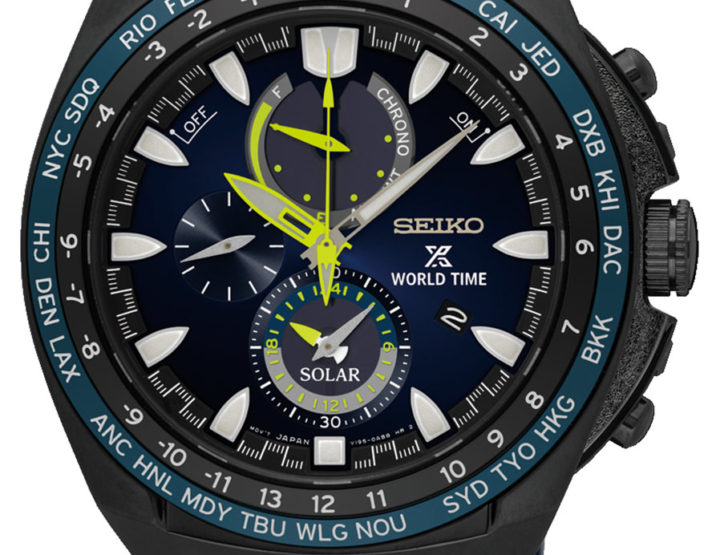 Seikos neue Prospex World Time Solar Chronographen