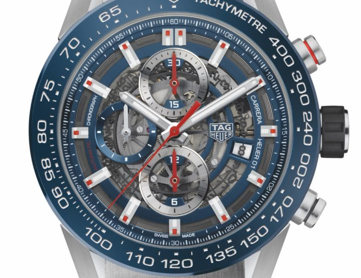 Tag Heuer Carrera H01 in 43mm