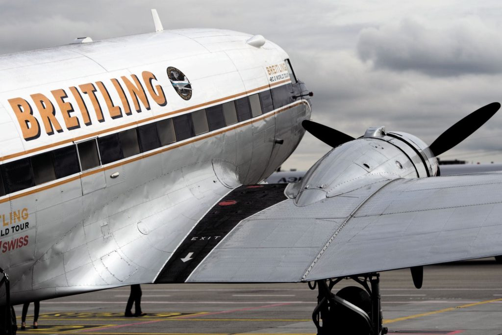 Breitling DC-3 World Tour Press Conference Geneva – March 9th 201