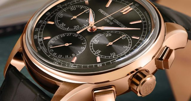 Frédérique Constant präsentiert ersten Manufaktur-Flyback-Chronographen