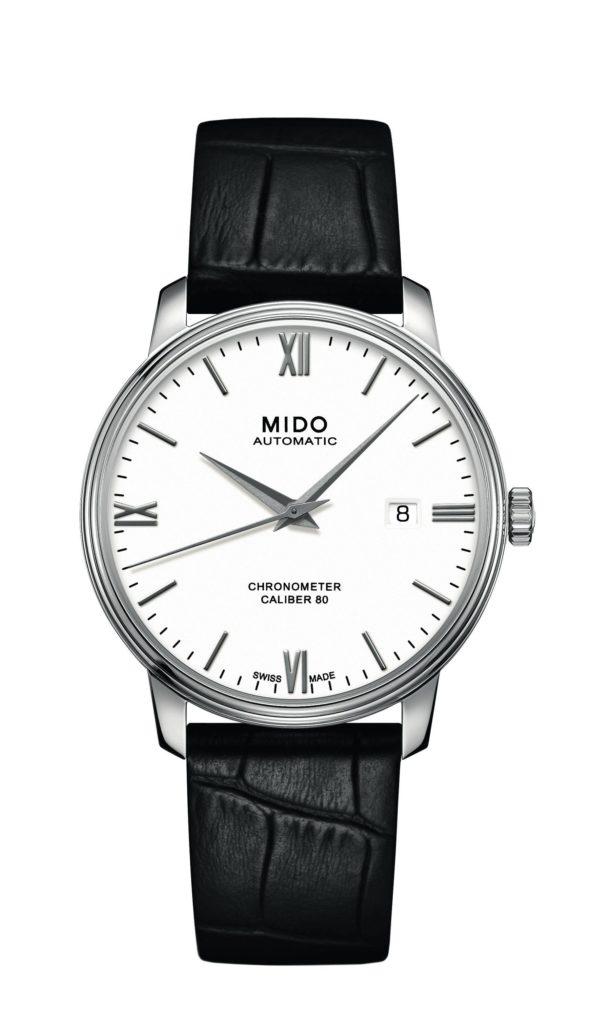 Die neue Mido Baroncelli Caliber 80 Chronometer gibt es mit 34 oder 40 mm Gehäuse-Durchmesser.