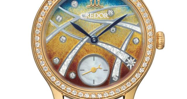 Die neue Seiko Credor Emaille für Ladies