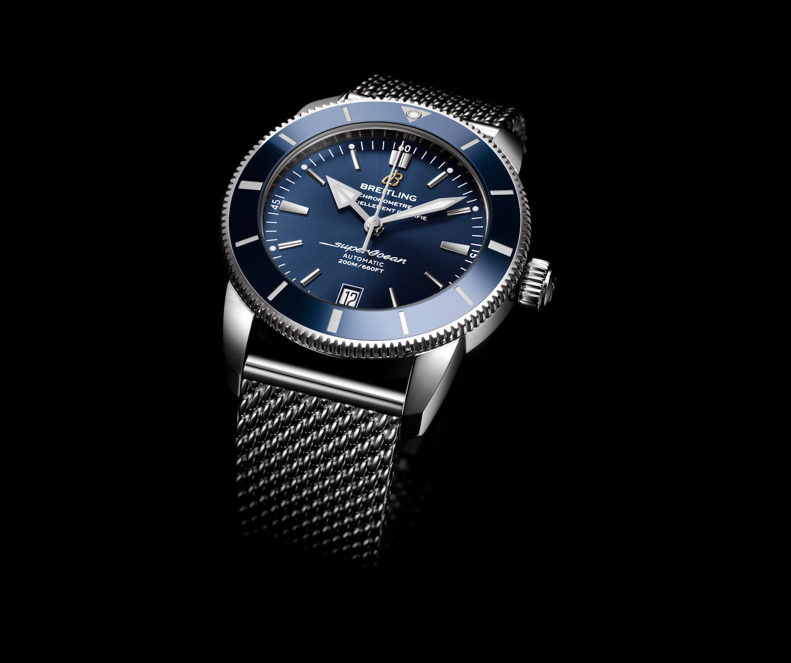 Die Breitling Superocean Heritage II