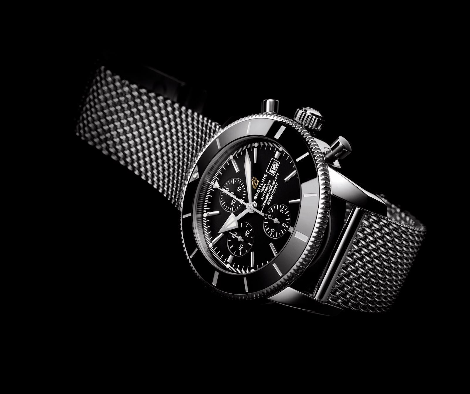 Die Breitling Superocean Heritage II Chronographe