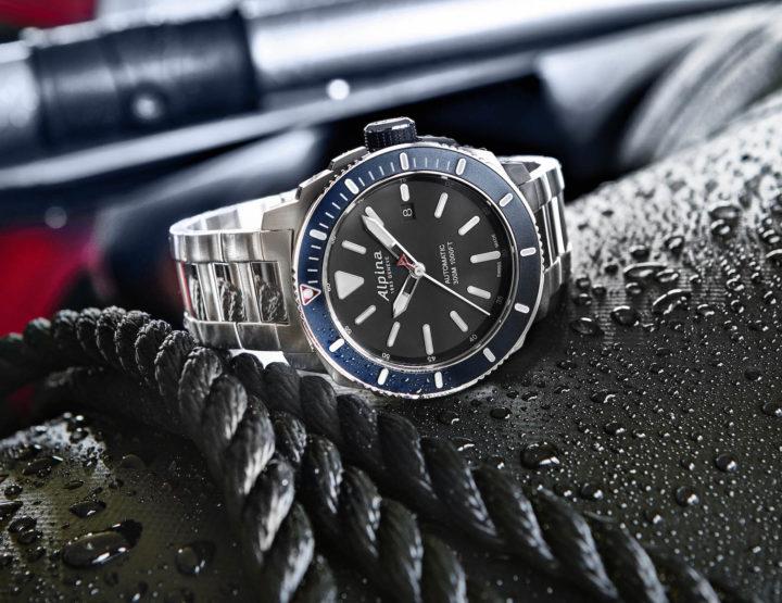 Neue Tiefen mit der Alpina Seastrong Diver 300