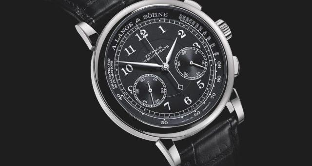 Schönheit in schwarz-weiß: Die A. Lange & Söhne 1815 Chronograph