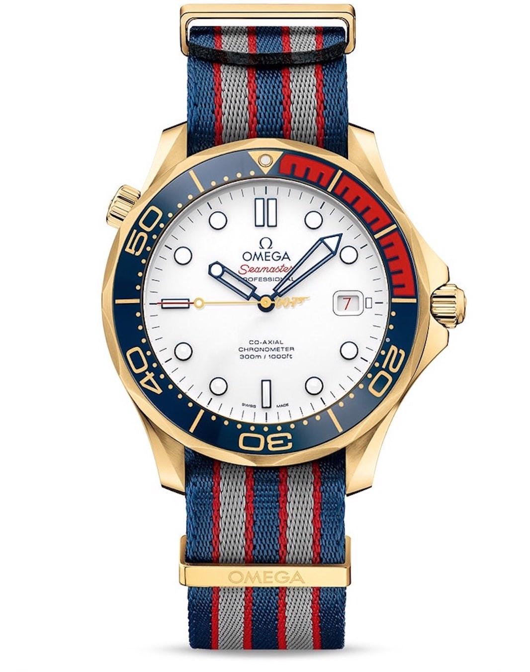 Die Omega Seamaster 300M Commanders Watch