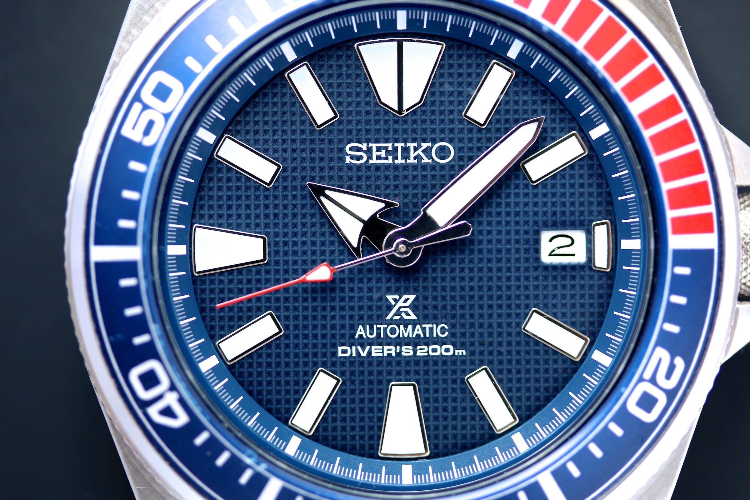 Die Seiko Prospex Diver Automatik Samurai