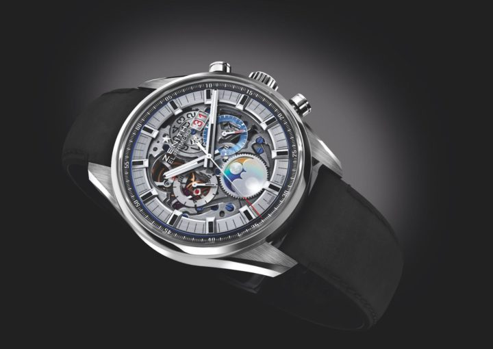 Die Zenith Chronomaster El Primero Grande Date Full Open