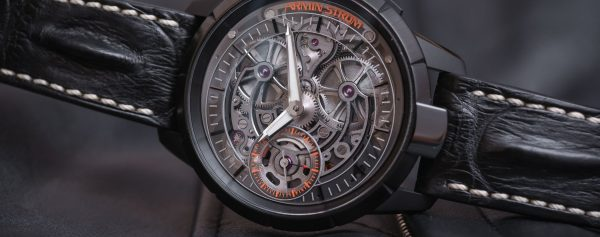 What is it to wear a unique and configured watch by Armin Strom?
