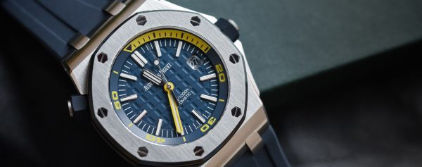 The Perfect Summer Luxury Watch? The Audemars Piguet Royal Oak Offshore Diver Funky Colors Reviewed