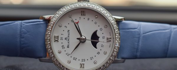 Women's Watch Wednesday – Blancpain's New Quantieme Phases de Lune Has a Tiny Secret on the Moon