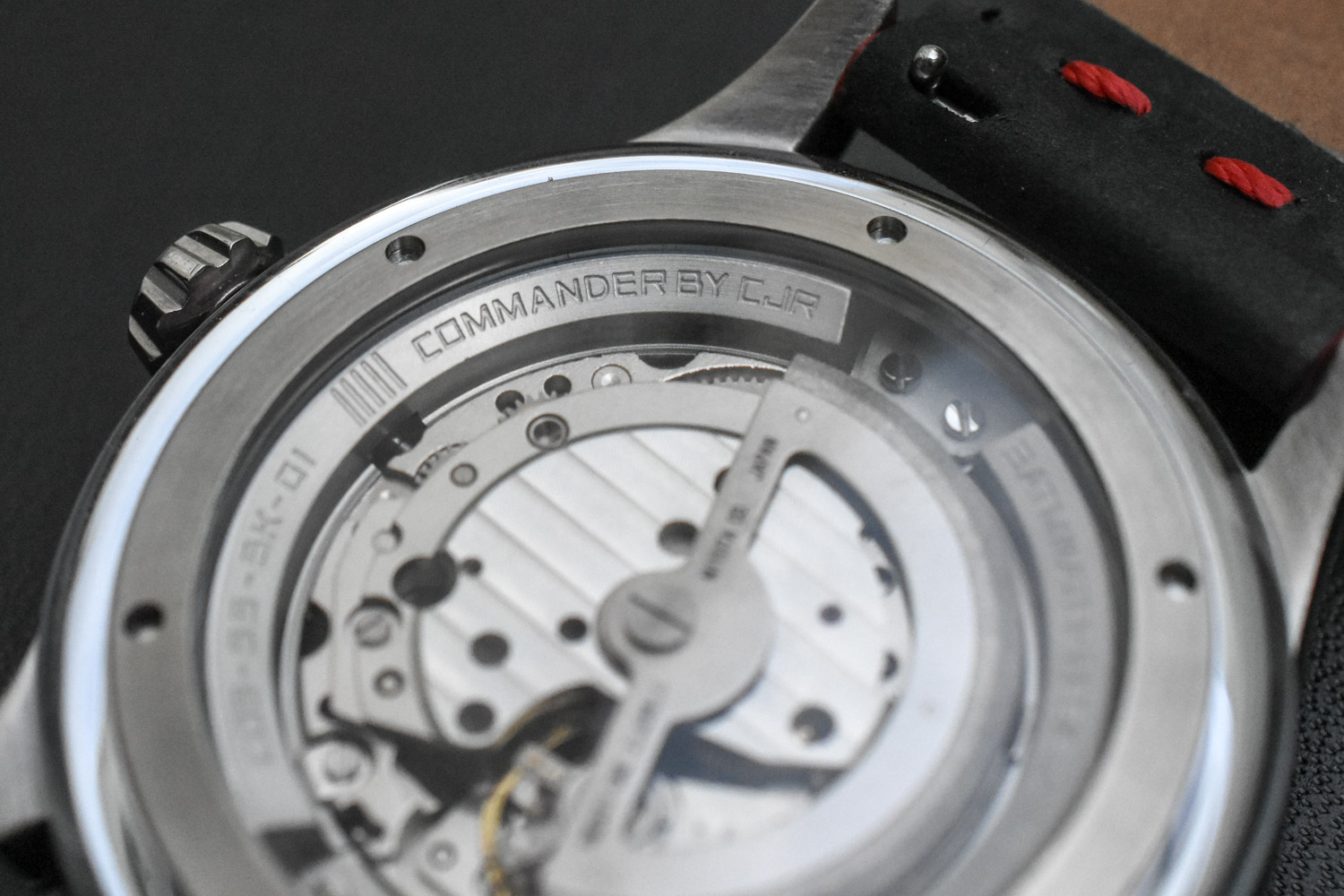 CJR Commander Series Watch kickstarter