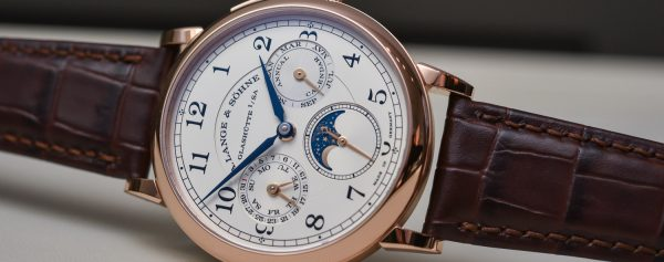 "Hands-On – A. Lange & Söhne 1815 Annual Calendar, Lange's ""Entry-Level"" Complication Watch"