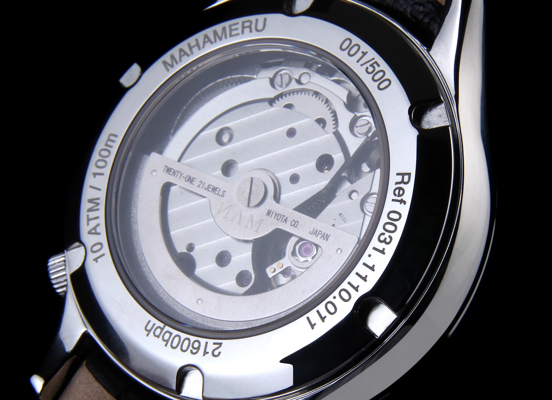 NAM Watch Company Mahameru Project - Kickstarter