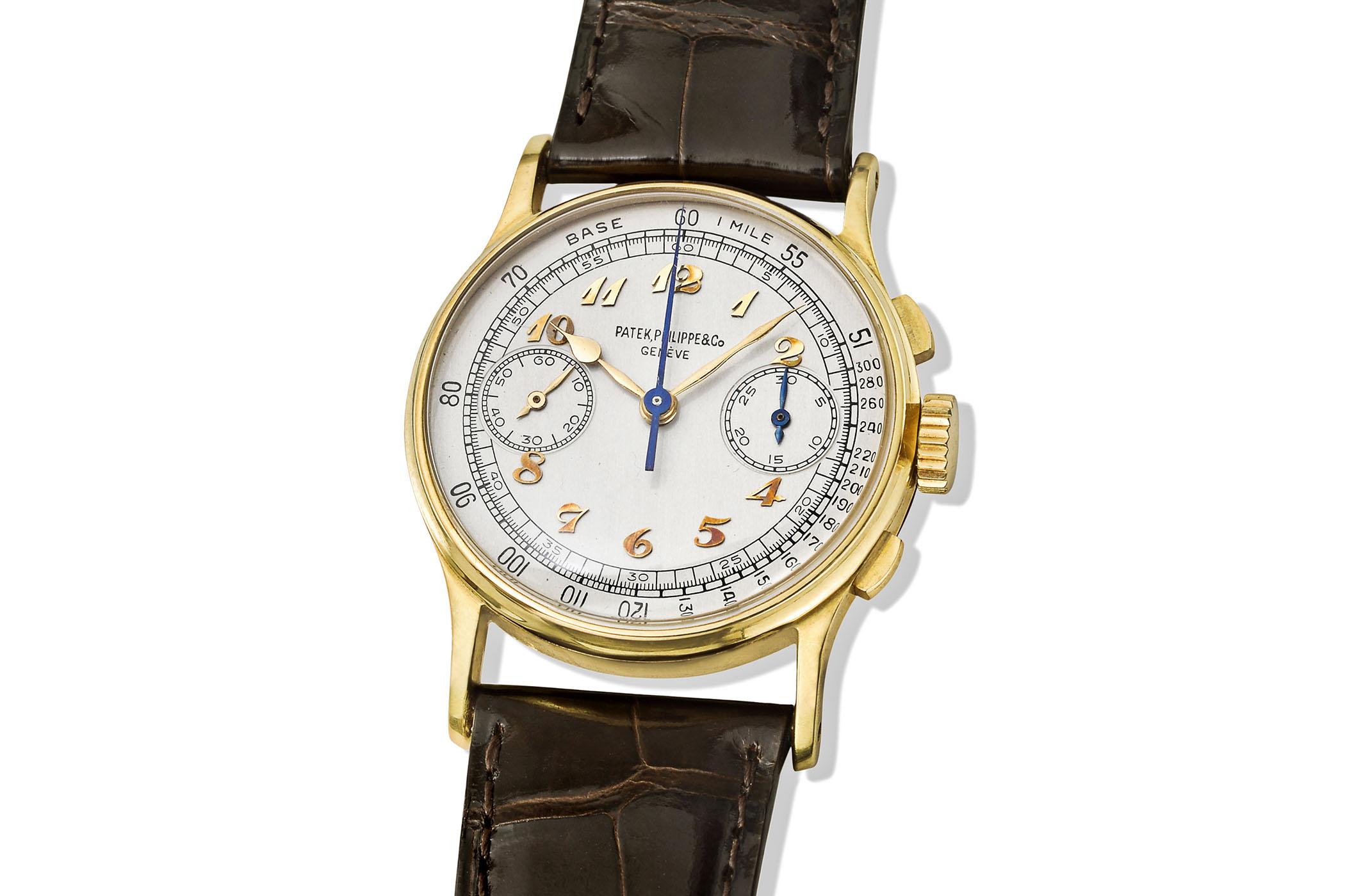 Patek Philippe 130 Chronograph Joe DiMaggio