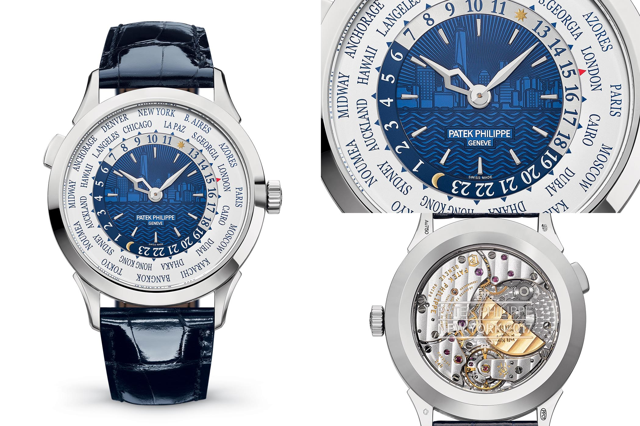 Patek Philippe World Time Ref. 5230G New York 2017