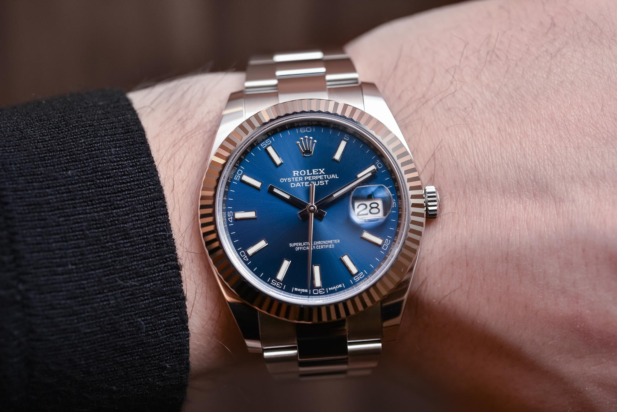 Hands,On \u2013 The Rolex Datejust 41 in Steel (a.k.a. The