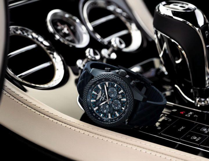 Die neue Breitling Bentley GT Dark Sapphire