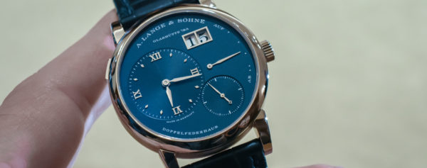 Introducing – Blue Dials for the A. Lange & Söhne Lange 1 and Saxonia Collections (Live Pics, Pricing & Availability)