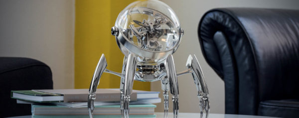 Introducing Octopod, The Newest, Aquatic-Inspired Table Clock By MB&F and L'Epée