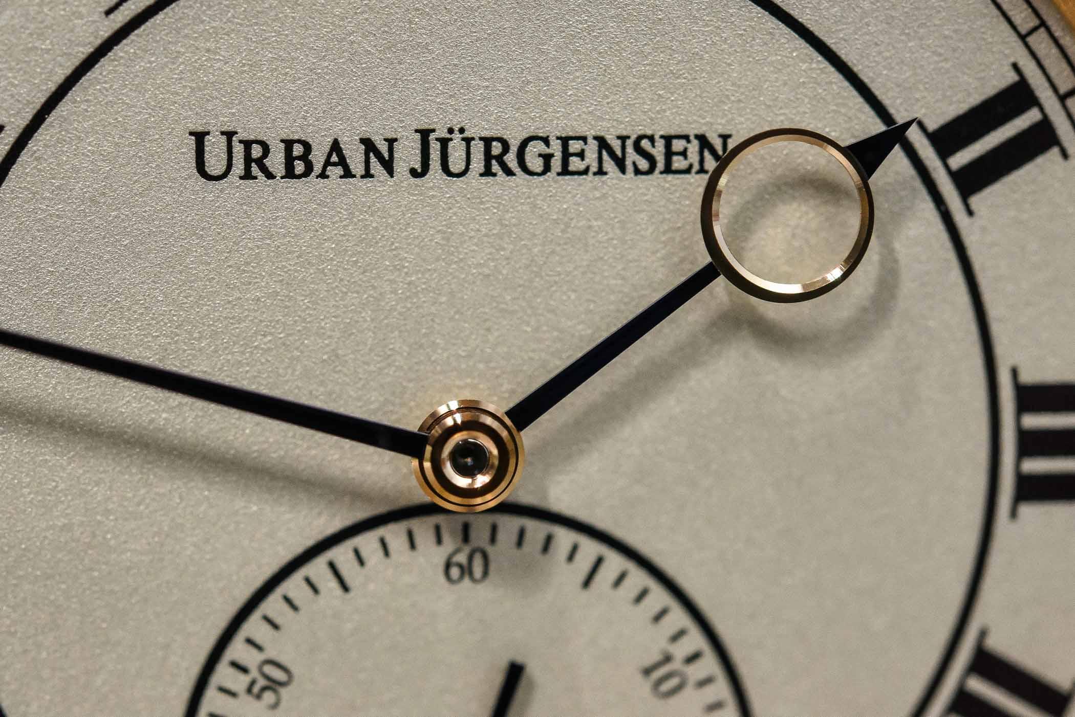 Urban Jurgensen reference 1142 Grenage dial
