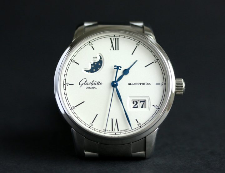 Die Glashütte Original Senator Excellence Panoramadatum Mondphase
