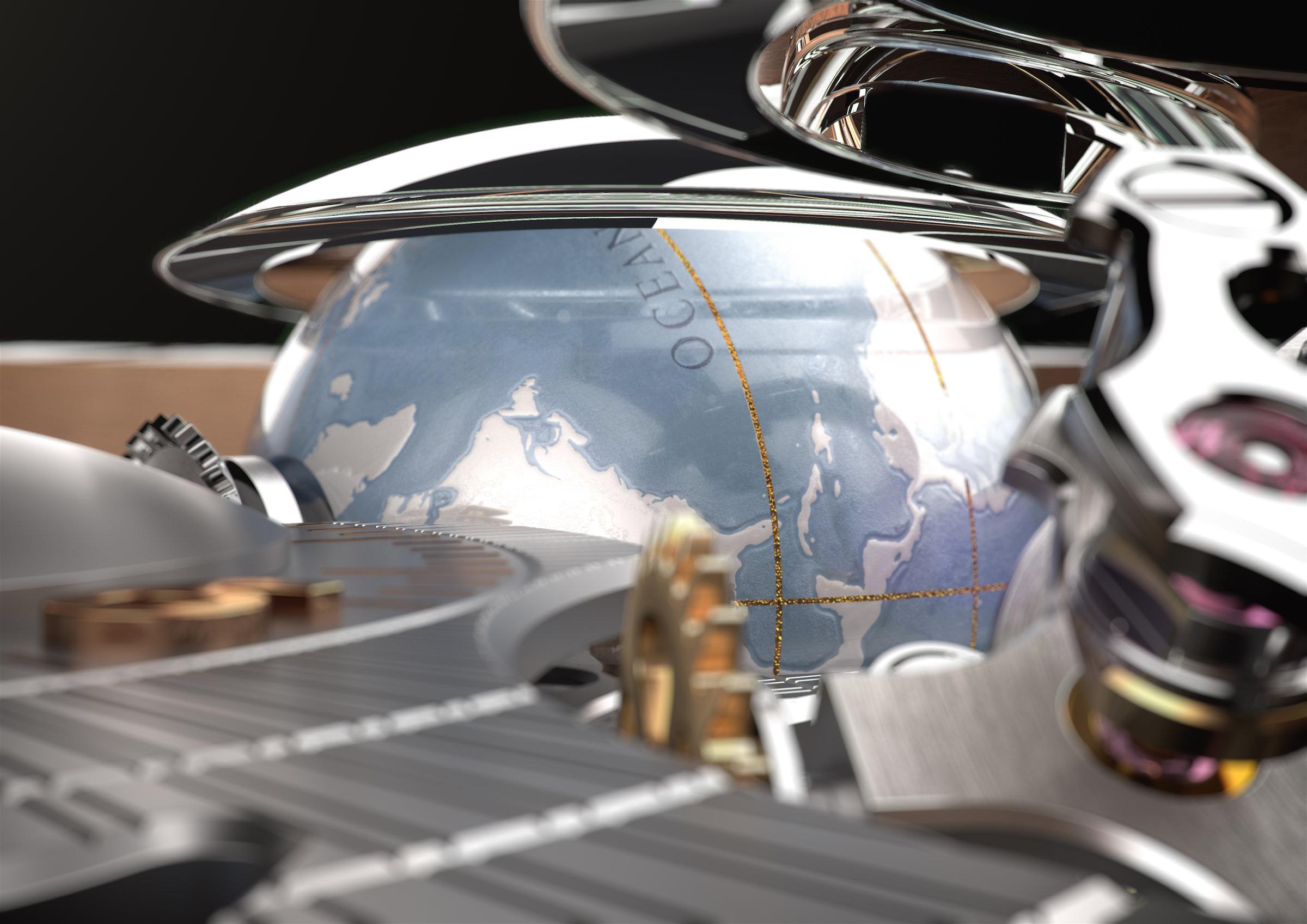 Die Girard Perregaux Planetarium Tri-Axial