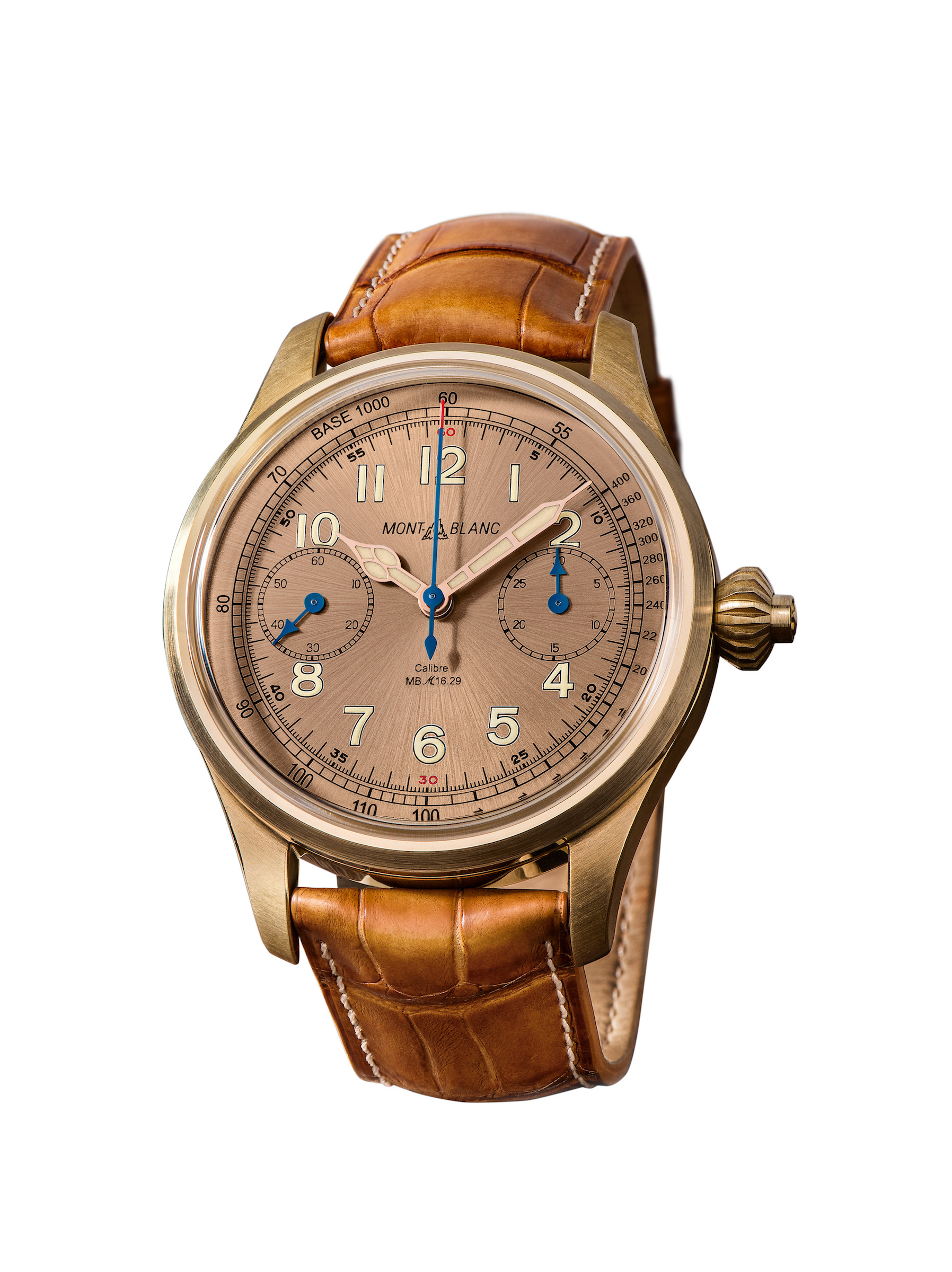 Die Montblanc 1858 Chronograph Tachymeter Limited Edition 100
