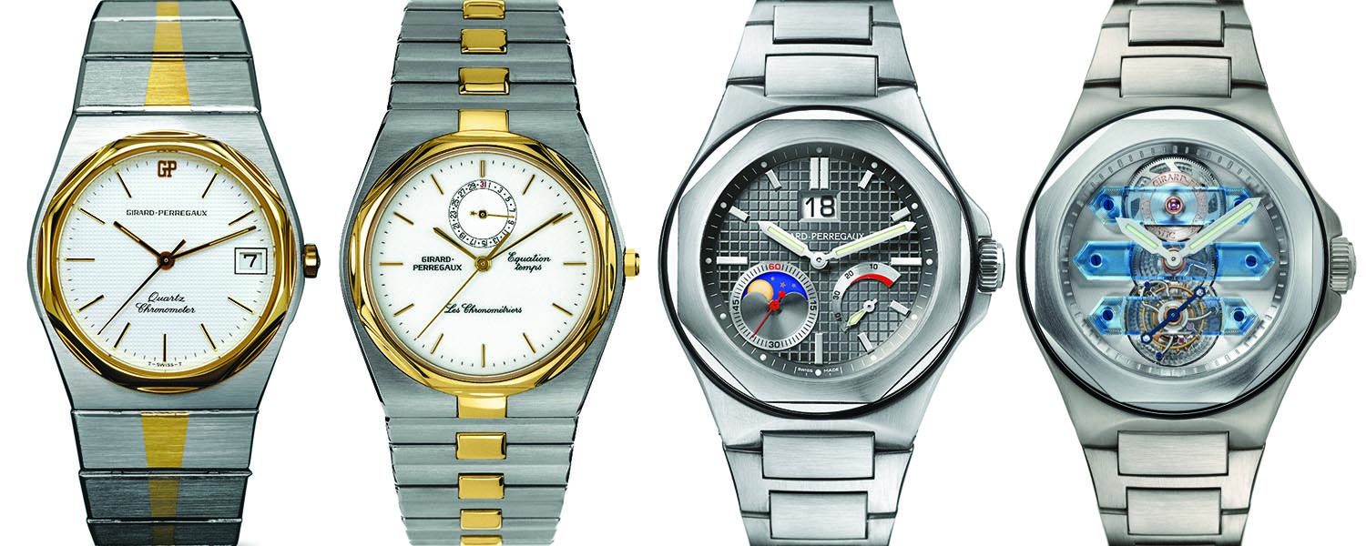Girard Perregaux Laureato Vintage collection history
