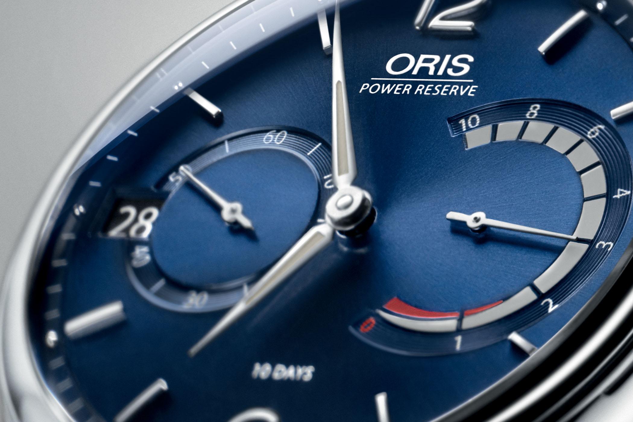Oris Artelier Caliber 111 Blue Dial