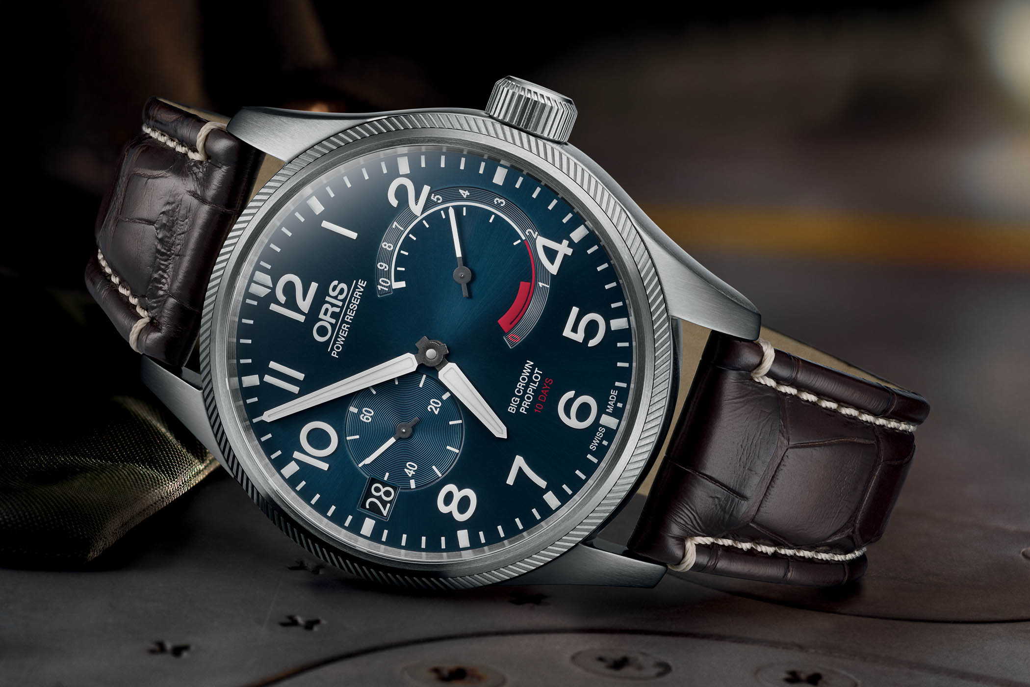 Blue is the new Black – Oris Big Crown ProPilot Calibre 111 now with