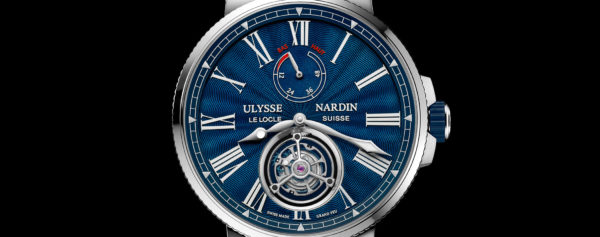 Pre-SIHH 2018 – Ulysse Nardin Marine Tourbillon Now with Guilloche/Enamel Dial