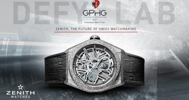 Preisgekrönt: Zenith Defy Lab gewinnt GPHG Innovationspreis