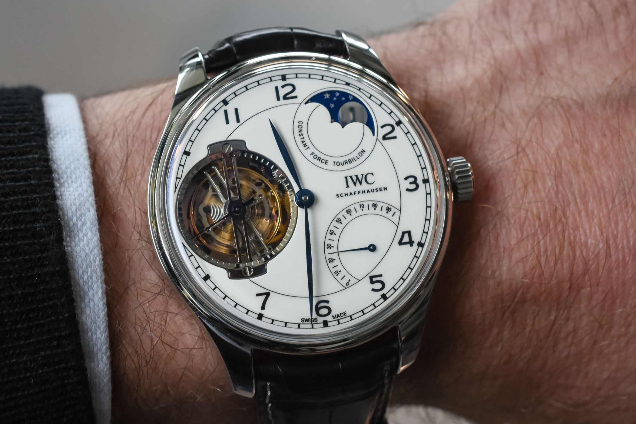 IWC Portugieser Constant Force Tourbillon Edition 150 years Pre-SIHH 2018
