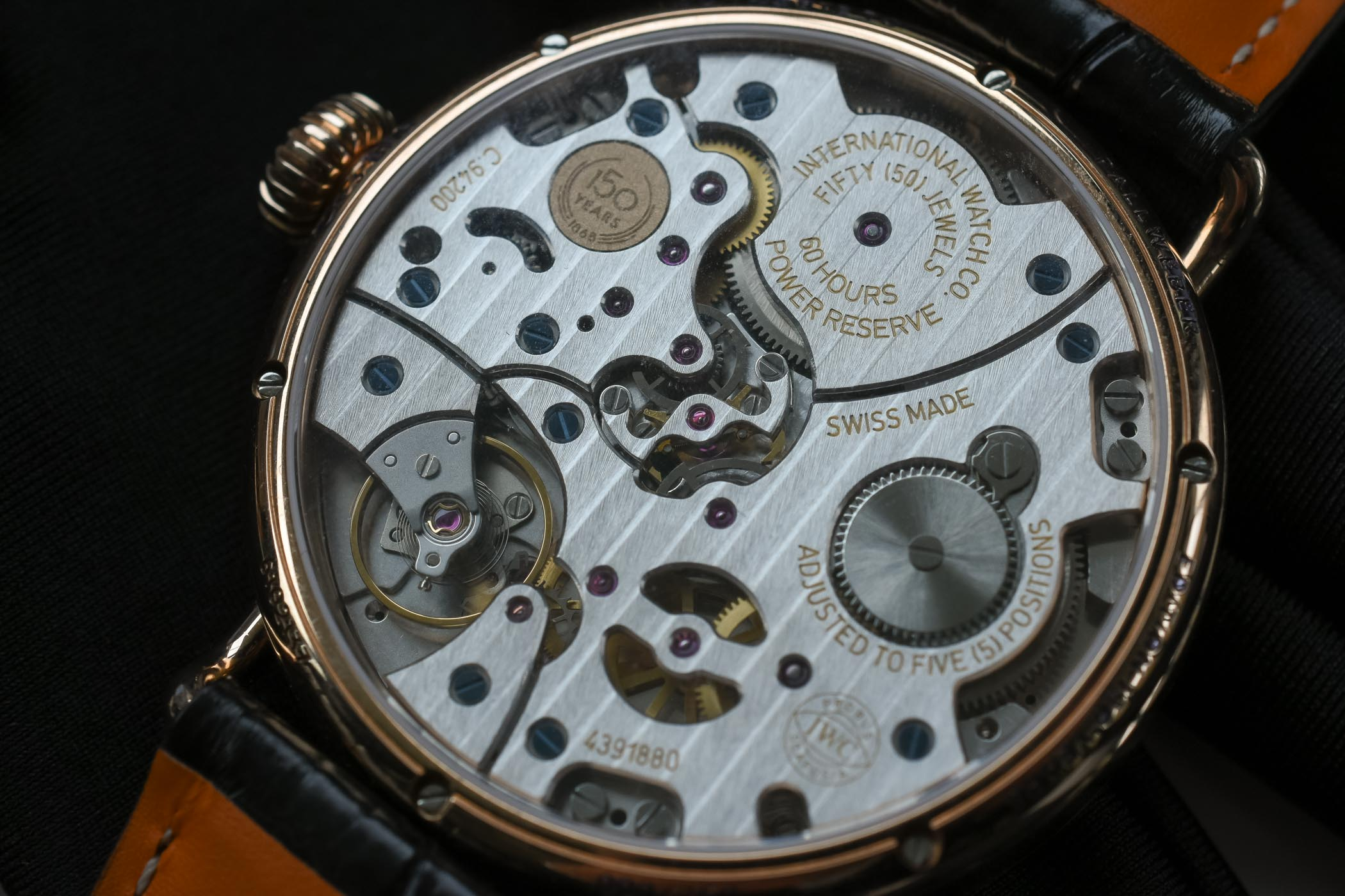IWC Tribute to Pallweber Edition 150 years - SIHH 2018