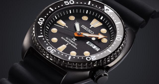 Dunkle Meerestiefen: Die Seiko Prospex Black Series Diver's