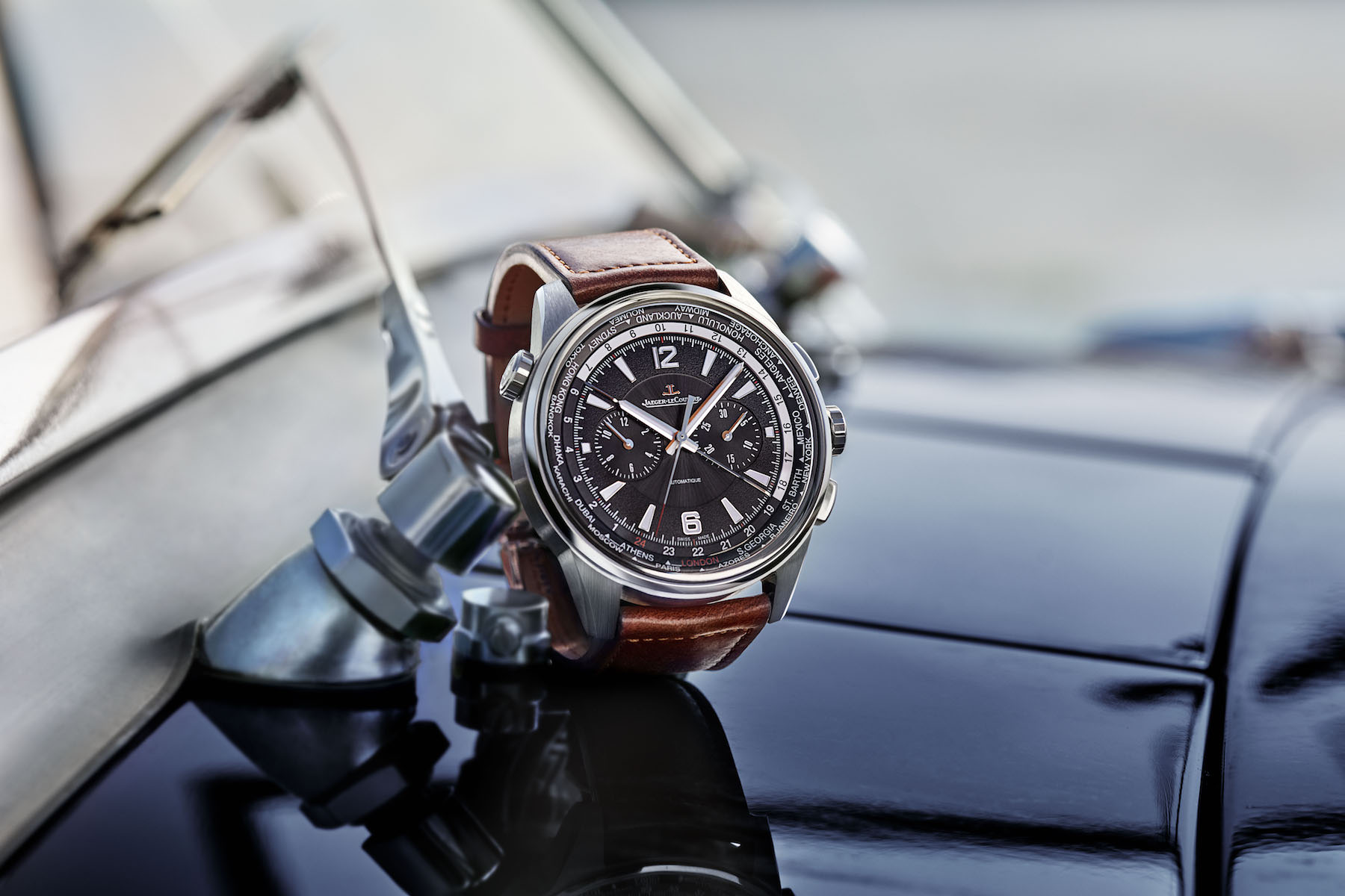 Die neue Jaeger-LeCoultre Polaris Chronograph World Time