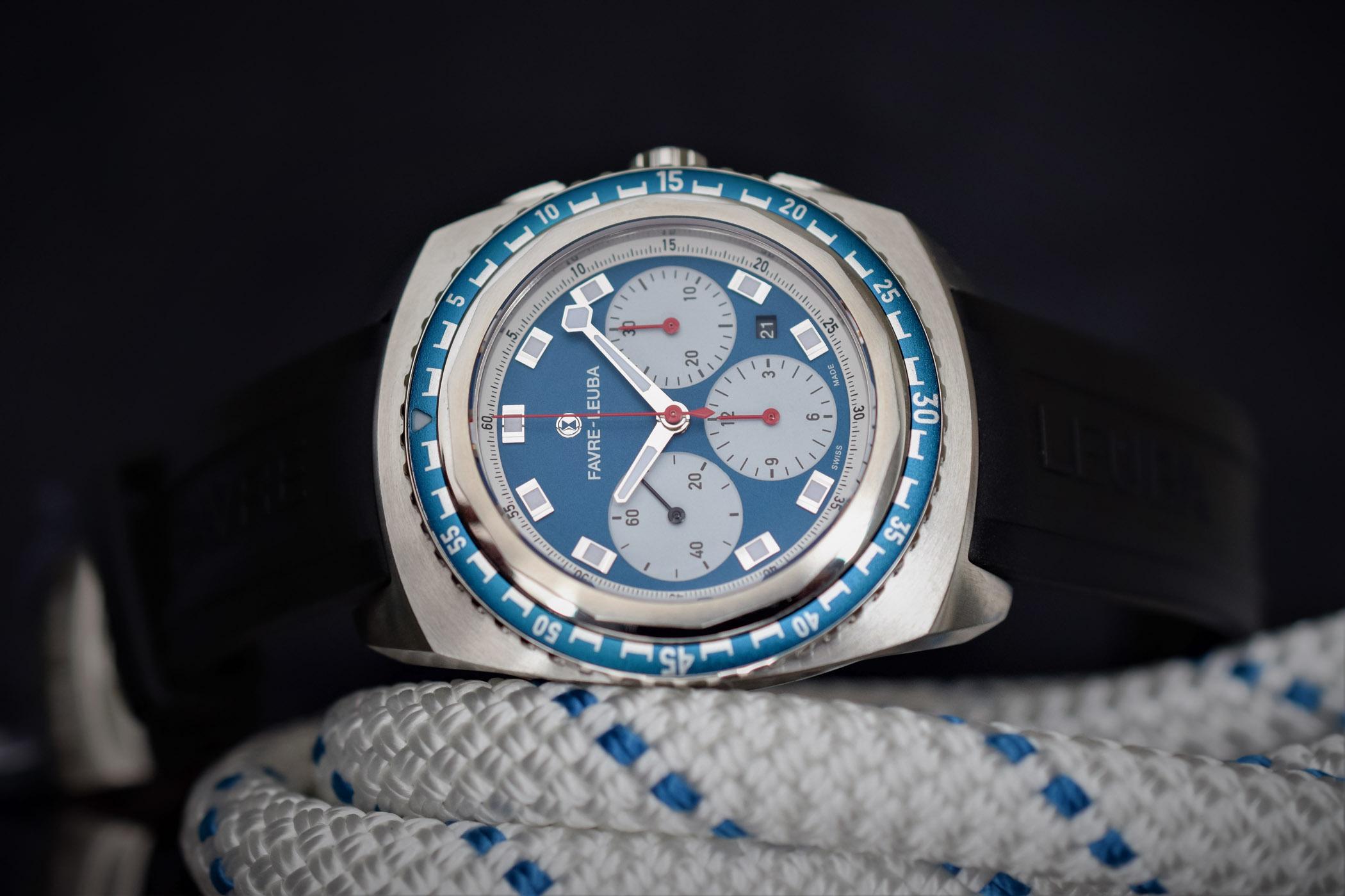 Favre-Leuba Raider Sea-Sky Diving Chronograph