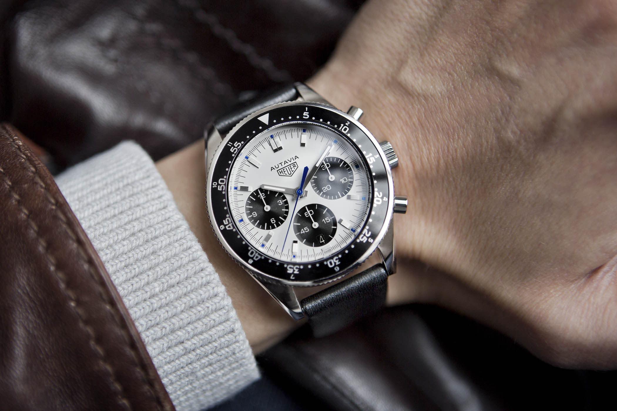 Heuer Autavia Jo Siffert Collector's Edition by Calibre 11