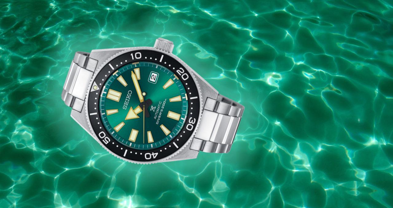 Alles im grünen Bereich: Die neue Seiko Prospex Limited Edition