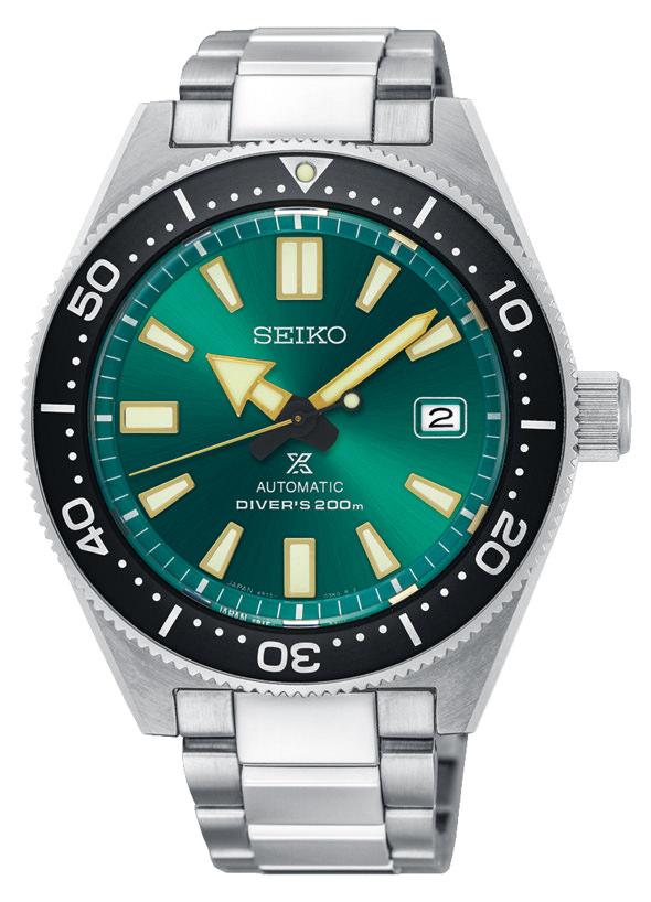 Die Seiko Prospex mit grünem Zifferblatt