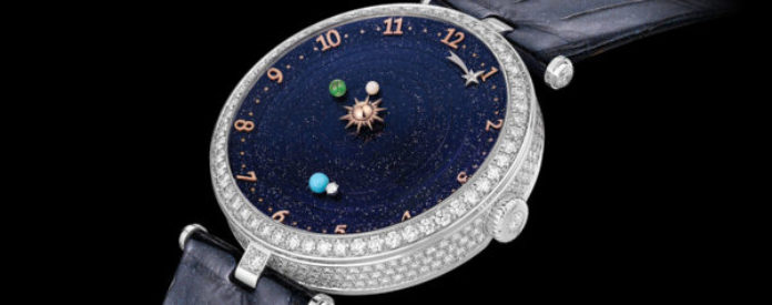 Van Cleef Arpels Lady Arpels Planetarium The World At Your Fingertips Or At Least Your Wrist Watchlounge