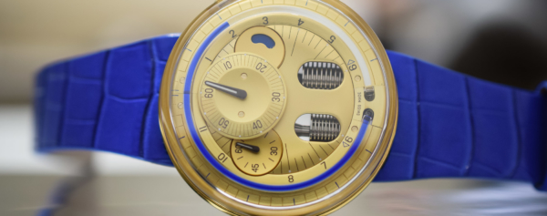 Hands-on – HYT H0 Gold Blue Fluid