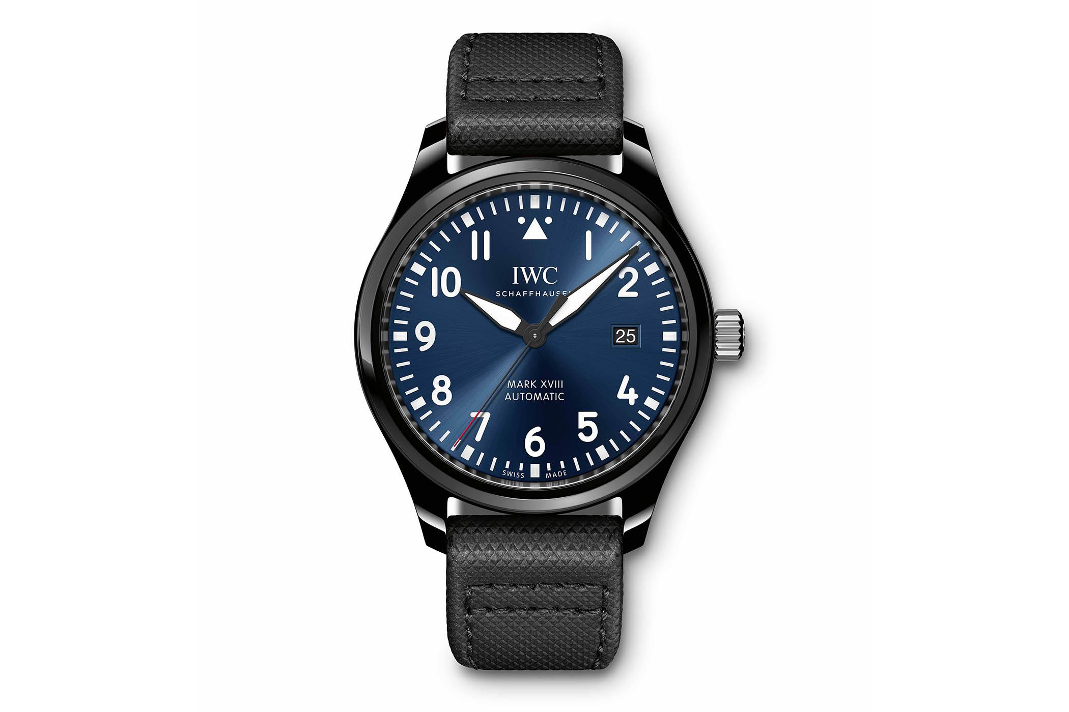 IWC Pilot's Watch Mark XVIII Edition Laureus Sport