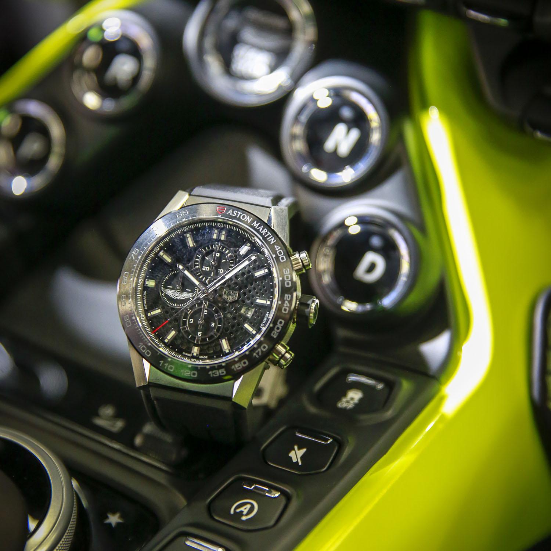 Introducing The Tag Heuer Carrera Heuer 01 Aston Martin Watchlounge
