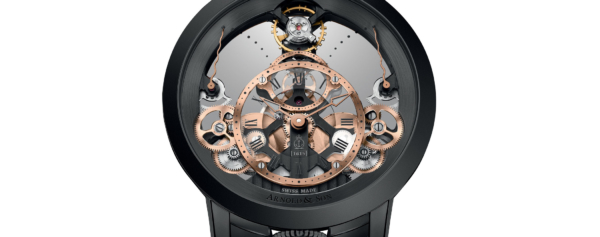 Introducing – Arnold & Son Time Pyramid Black Edition