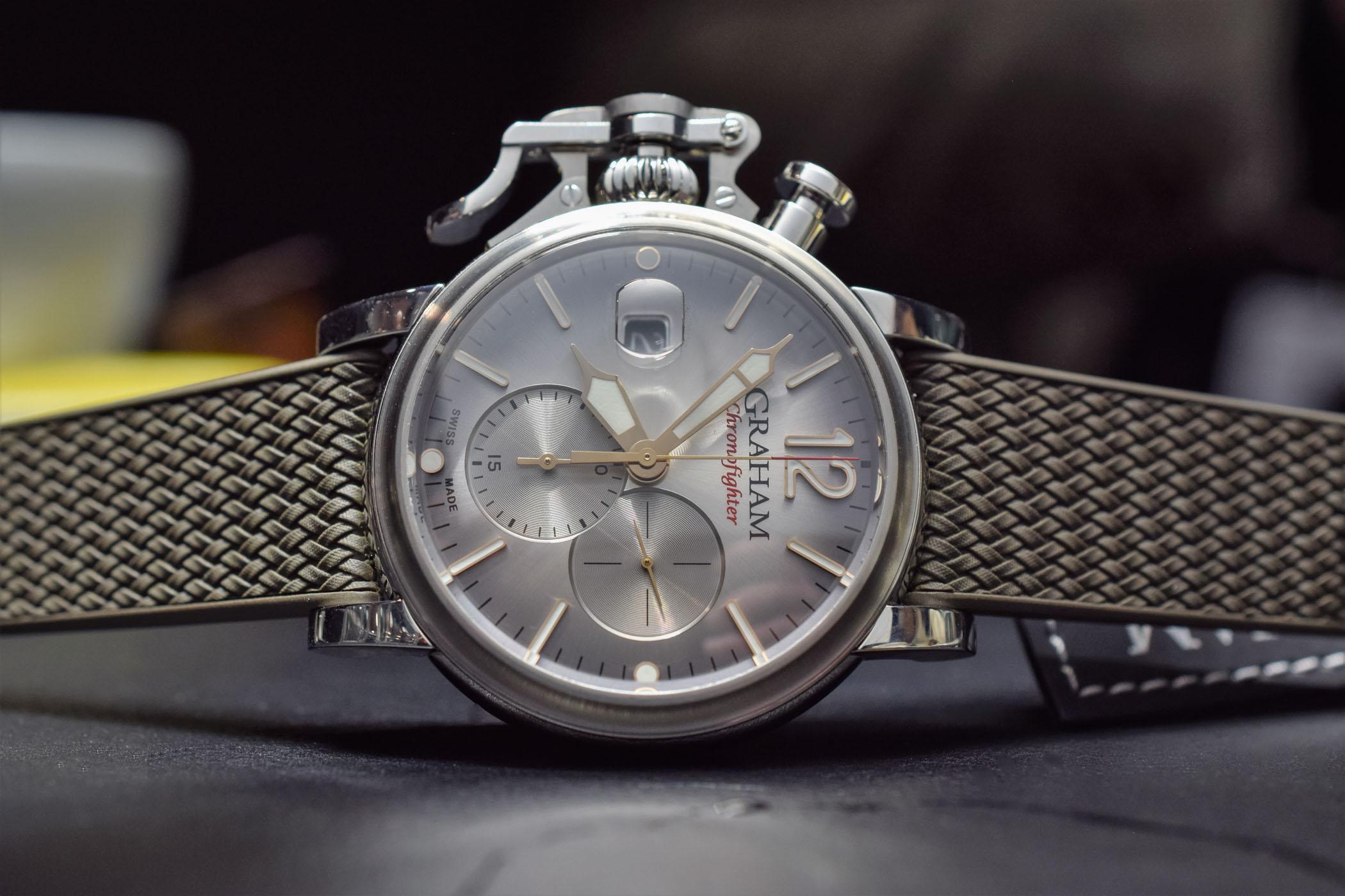 Graham Chronofighter Grand Vintage - Baselworld 2018