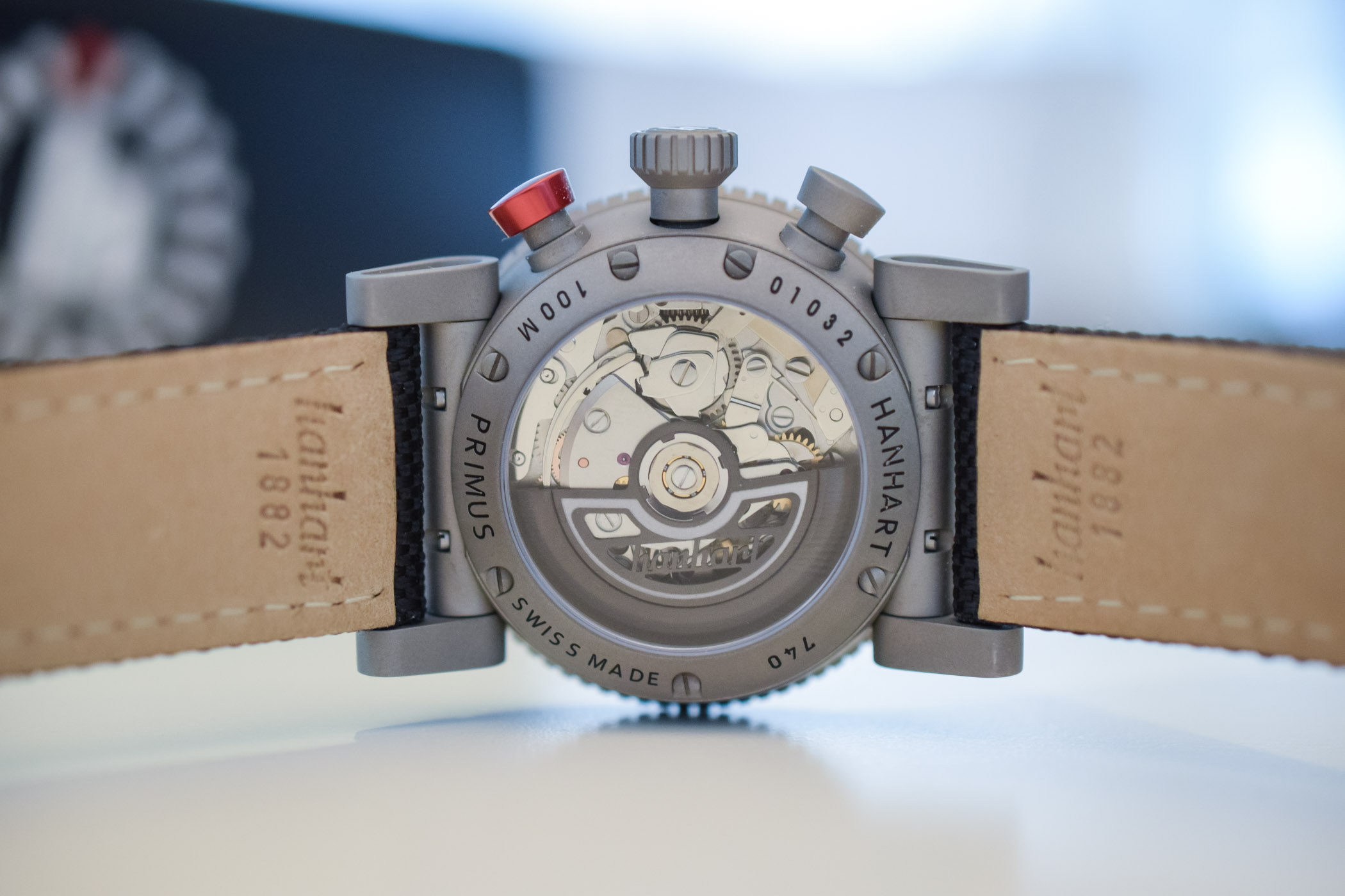 Hanhart Primus Monochrome Pilot Chronograph