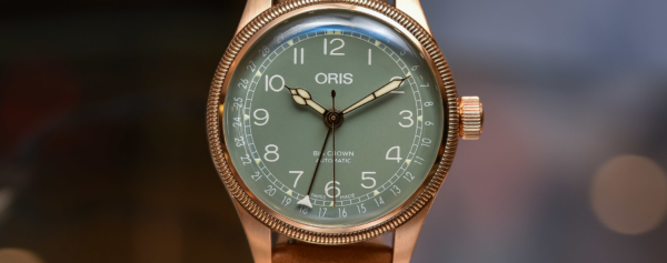 Hands-on – The Surprising 36mm Oris Big Crown Pointer Date in Bronze